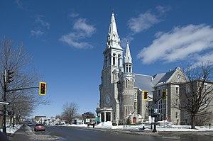 Saint-Jérôme, Quebec - Cathedral of Saint-Jérôme, Québec, Canada