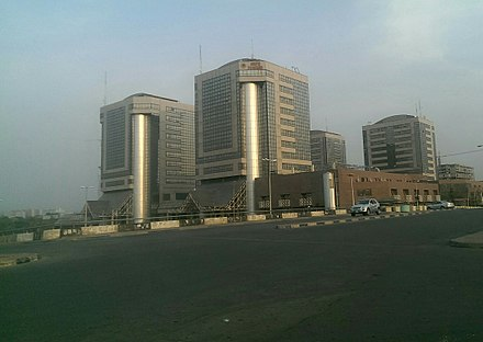 Headquarters of the Nigerian National Petroleum Corporation (NNPC) NNPC1.jpg