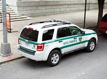 New York City Parks Enforcement Patrol - Wikipedia