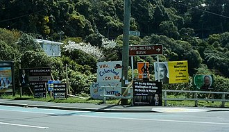 2007 New Zealand local elections - Candidates' advertising in Wellington