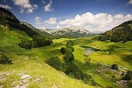 Nacionalni park Sutjeska, Zelengora, Orlovačko jezero