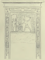 Nahr al-Kalb Northern Egyptian inscription drawing as of 1845.png
