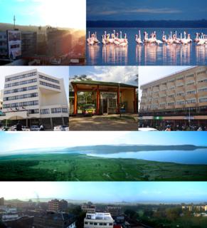 Nakuru City in Nakuru County, Kenya