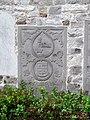 Namur Malonne mediaeval gravestone 05.JPG