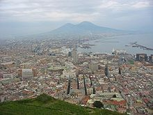 Naples and the Vesuvius