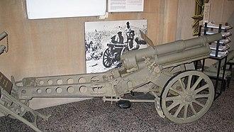 Canon de 65 M (montagne) modele 1906 - Image: Napoleonchik batey haosef 2