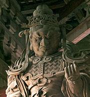 Statue at Tōdai-ji
