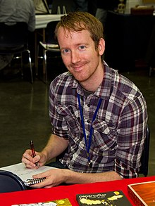 Nate Powell at Stumptown Comics Fest 2012 (7123337613) (cropped).jpg