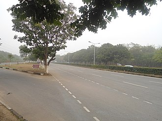National Highway (India) - The eight-lane National Highway 21 passing through Chandigarh