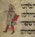 National Library of Israel, image from the Rothschild Haggadah, high resolution 486085 019.tif