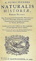 Gaius Plinius Secundus - Vikipedi