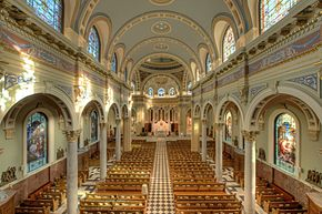 Nave, St. Patrick's Cathedral, Harrisburg Historic District.jpg