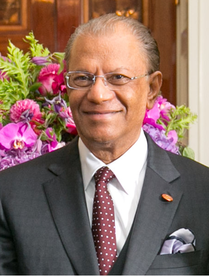 Navin Ramgoolam - Image: Navin Ramgoolam 2014