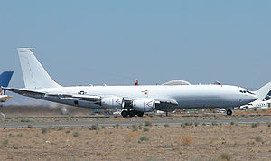 Boeing E-6 Mercury - Navy E-6B Mercury at the Mojave Air and Space Port