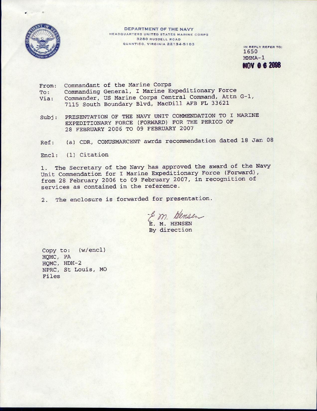 FileNavy Unit Commendation I Mef Pdf  Wikimedia Commons