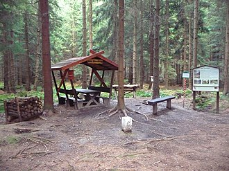 Extreme points of the Czech Republic - Image: Nejsevernější bod Česka