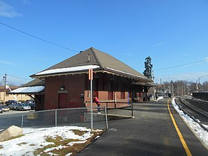 Netcong, New Jersey - Netcong Train Station