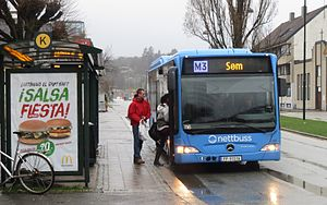 Nettbuss - A Mercedes-Benz Citaro from Nettbuss Sør in Kristiansand.