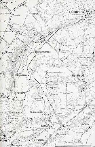 Battle of La Bassée - Image: Neuve Chapelle, 1915b