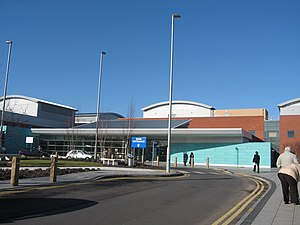 Broadgreen Hospital - Shared Broadgreen Hospital and LHCH main entrance