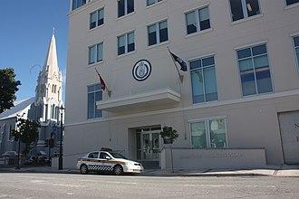 Bermuda Police Service - The new Hamilton Police Station in 2011