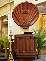 New Orleans St Louis Cathedral pulpit.jpg