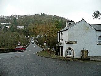 Gunnislake - New Tamar Bridge and Toll House