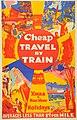 New Zealand Railway poster - Cheap Travel by Train 1930-1939 (10468990864).jpg