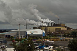 New Zealand Steel Mill from lookout.jpg