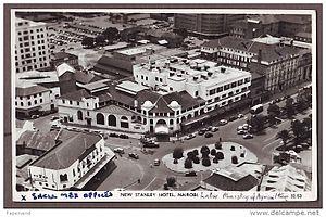 Stanley Hotel, Nairobi - New Stanley Hotel (c. 1950)