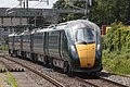 Newbury Racecourse - GWR 802003 speeding to London.JPG