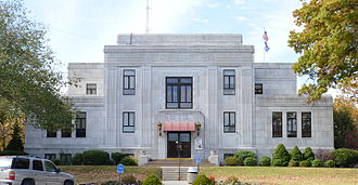 Newton County, Missouri - Image: Newton County MO Courthouse 20151022 113
