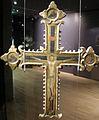 Ngv, croce processionale da firenze, XV secolo 01.JPG