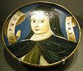 Ngv, maiolica di casteldurante, piatto con sora mavera, 1530-40.JPG