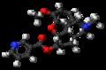 Nicodicodeine molecule ball.png