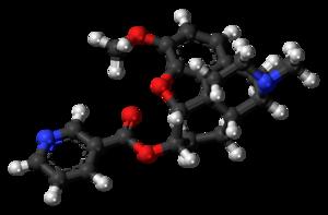 Nicodicodeine - Image: Nicodicodeine molecule ball