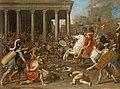 Nicolas Poussin - Zerstörung des Tempels in Jerusalem durch Titus - GG 1556 - Kunsthistorisches Museum.jpg