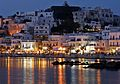 Nigh view of beach of Naxos island, Greece.jpg
