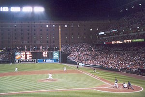 Oriole Park at Camden Yards - The Orioles hosting the Chicago White Sox in 1999