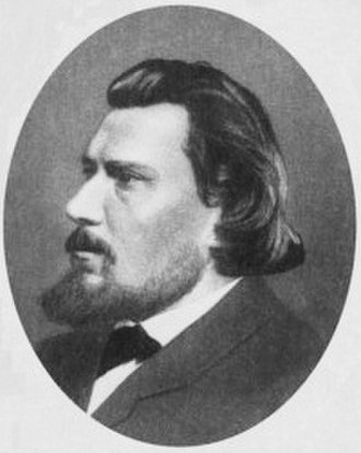 "Nikolai Leskov - ""I could never understand this idea of 'studying' the life of the common people, for I felt it would be more natural for a writer to 'live' this kind of life, rather than 'study' it."" Nikolai Leskov in 1860"
