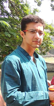 Depiction of Nilesh Chakraborty