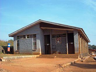 Nkambé - Image: Nkambe Town 2