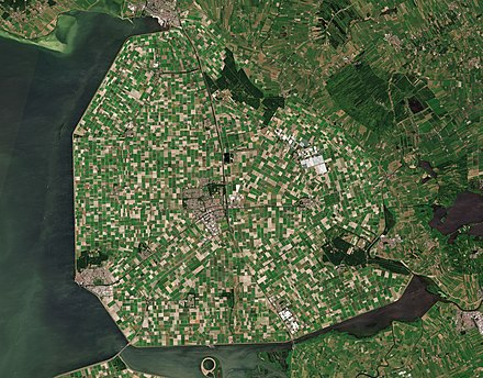 Satellite picture of Noordoostpolder Noordoostpolder by Sentinel-2.jpg