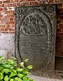 Norderbrarup, the Mary´s Church, iron graveslab.jpg