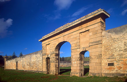 Remains of Norfolk Island gaol Norfolk Island jail.jpg