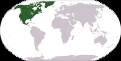 Votre Nationalité et votre unifoliés!!! | Expressions cool de votre région pour se marrer 250px-Norteamerica