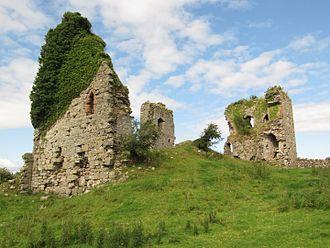 John Harington, 2nd Baron Harington - Gleaston Castle where Harrington died in 1363