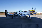 North American P-51D-30-NA Mustang Little Witch Taxi out 03 Stallion51 19Jan2012 (14960883346).jpg