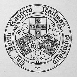 North Eastern Railway (United Kingdom) - Image: North Eastern Railway seal