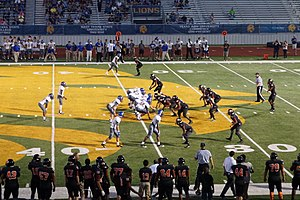 North Lamar Independent School District - The North Lamar Panthers high school football team in 2015